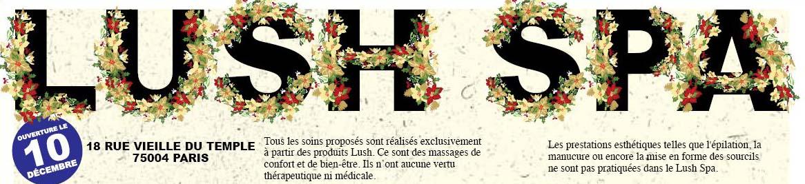 Pssst, le Lush Spa Parisien est ouvert dans Actualités Lush-Spa1