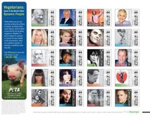 timbres-PETA-300x230 dans la mode aime les animaux
