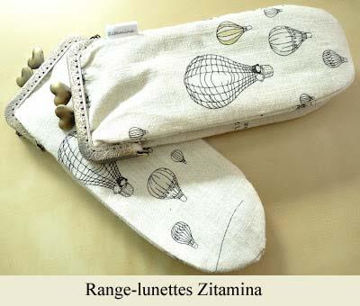 Zitamina-porte-lunettes dans le coin des accessoires