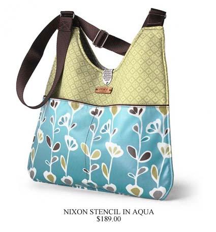 Des sacs à mains inspirés par la nature inhabit-sac-nixon