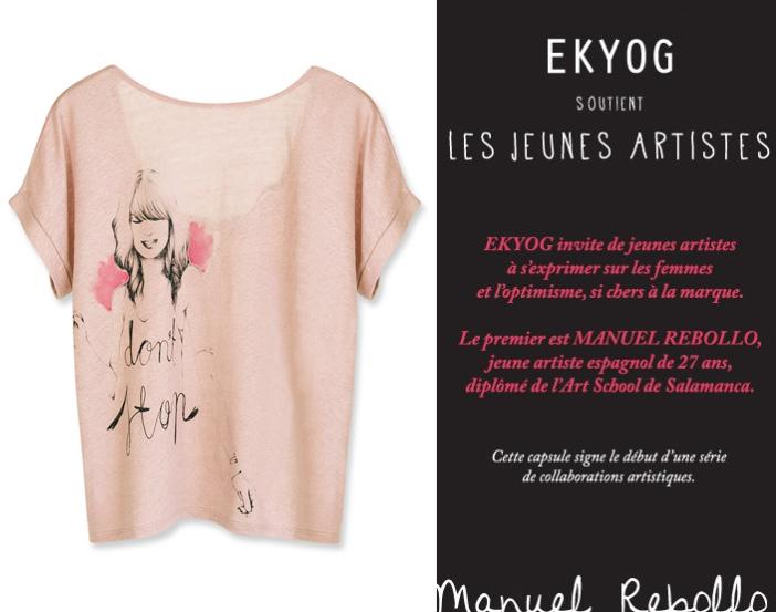 Ekyog laisse le crayon à de jeunes artistes dans Boutiques Ethiques ekyog-et-manuel-rebollo